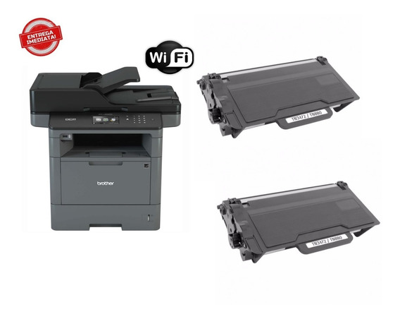 Multifuncional Impressora Brother Mfc-l5902dw + 02 Toner
