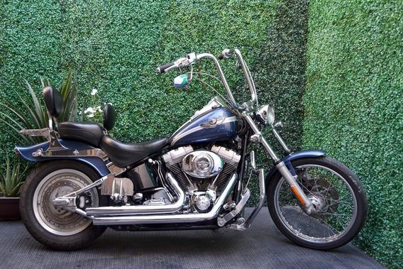Flamante Harley Softail Custom Conmemorativa 100 Años