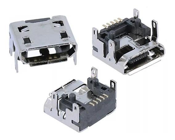 Kit 3 Conector Carga Original Caixa Som Jbl Go - Micro Usb