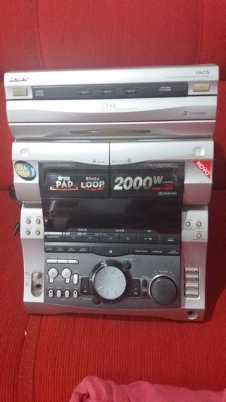 Aparelho De Som Sony Modelo; Grx8