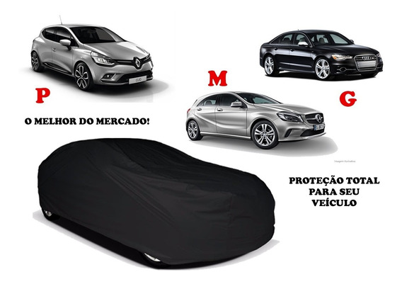 Capa Premium Cobrir Automóvel 100% Forrada Couro Ecológico