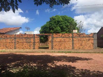 Terreno Com Casa Semipronta No Novo Estrela
