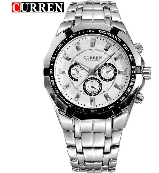 Relógio Masculino Luxo Curren Original Com Garantia