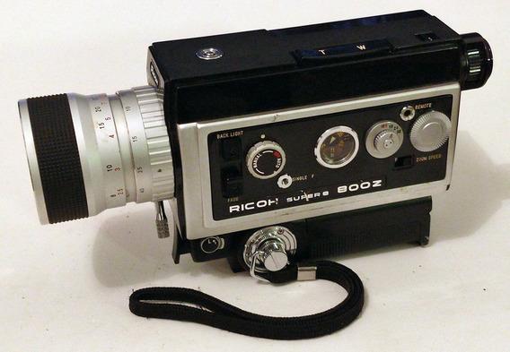 Filmadora Ricoh Super 8 800z