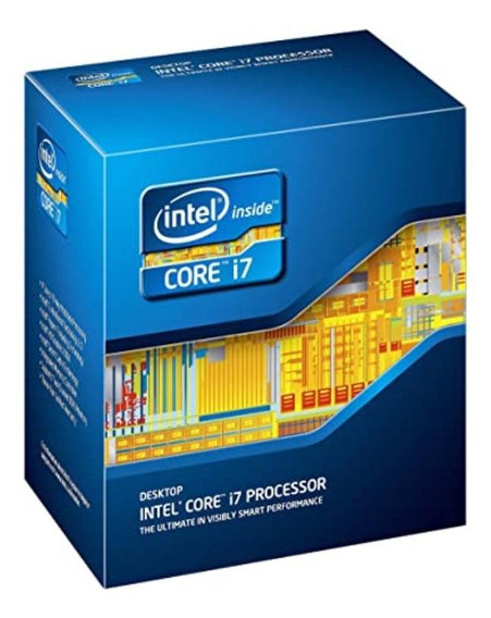 Processador gamer Intel Core i7-2600 BX80623I72600 de 4 núcleos e 3.8GHz de frequência com gráfica integrada
