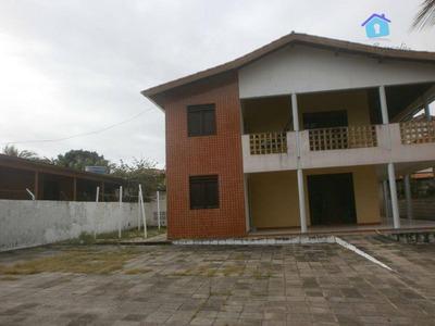 Casa 06 Quartos, Praia Do Amor, Conde. - Ca0229