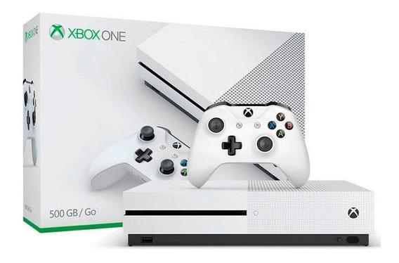 Console Xbox One S 500gb Microsoft Pronta Entrega