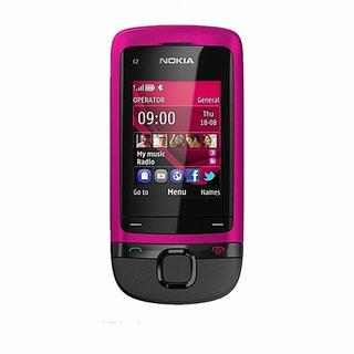 Telefone Célula Nokia C2-05 Slide Telefone Mp3 Bluetooth De