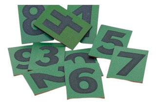 Numeros De Lija Montessori Con Caja Para Arena Madera