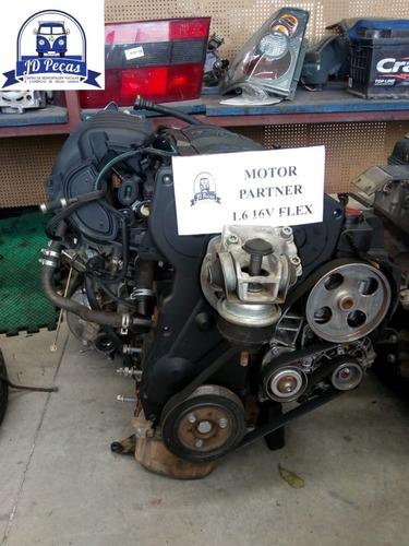 Motor Partner 1.6 16v ( C/ Nf E Baixa  )