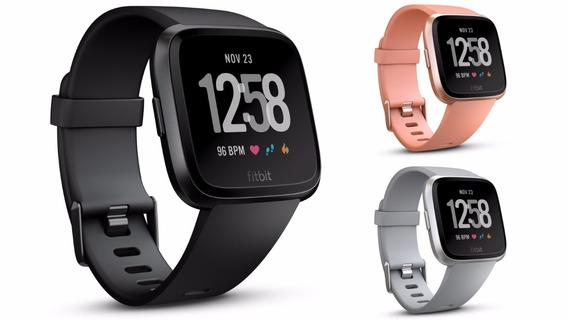 Relógio Monitor Smartwatch Fitbit Versa Preto Original