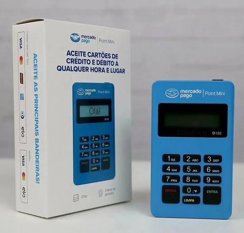 Imagem 1 de 5 de Máquina Maquininha Leitor De Cartões Crédito E Débito Point