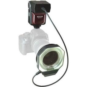 Flash Circular Bower Para Canon Com E-ttl