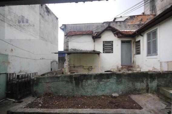 Terreno À Venda, Cambuci, 212 M² - São Paulo/sp - Te0025