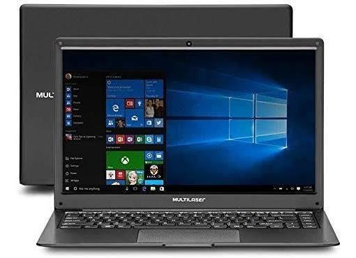 Notebook Multilaser 13.3 Pol 2gb 64gb Win 10 Dual Core Pc222