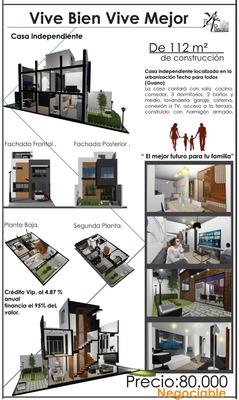 Casa Independiente Localiza La Urbanización Techo Para Todos
