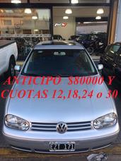 Volkswagen Golf 2.0 Highline 2005 Antic $80000 Y Cuotas
