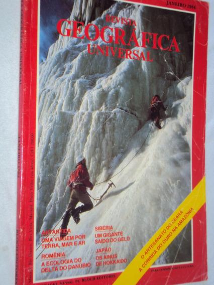 Revista Geográfica Universal Janeiro 1984 (sebo Amigo)