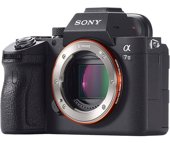 Câmera Sony Alpha A7 Iii Full Frame Corpo