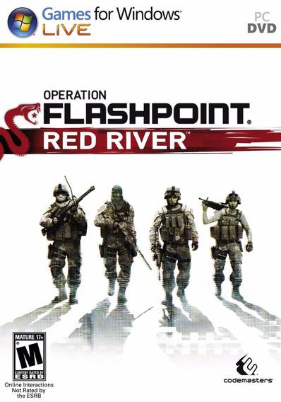 Game Operation Flashpoint Red River - Pc - Novo Lacrado