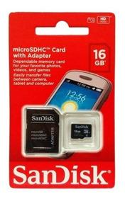 Cartão Memória Micro Sd 16gb Lacrado Original - 10 Unidades