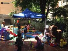 Baby Gym Piscina Pelotas Parque Little Plasmaca Mesa D Legos