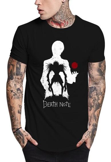 Camisa Death Note Camiseta Anime Séries Qualidade Excelente!