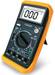 Tester Digital Multimetro Frecuencia Capacimetro Noga 890g