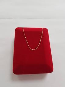 Corrente Ouro18k Veneziana 0,9 Gr 40cm == 11