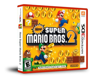 New Super Mario Bros 2 - Nintendo 3ds - 2ds - New 3ds