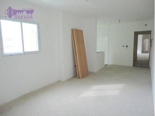 Cobertura Com 3 Dormitórios À Venda, 140 M² Por R$ 750.000,00 - Jardim - Santo André/sp - Co0421