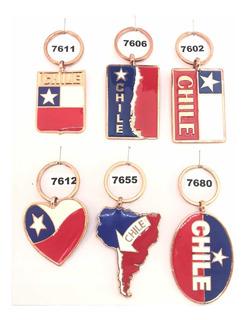 Llaveros Chile, Llaveros Chilenos Distintos Modelos.