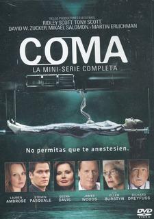 Coma. Serie De Tv En Dvd. Ridley Scott, Tony Scott
