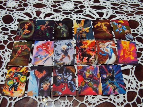 Lote Pepsicards Dc Comic Batman Justice League Superman