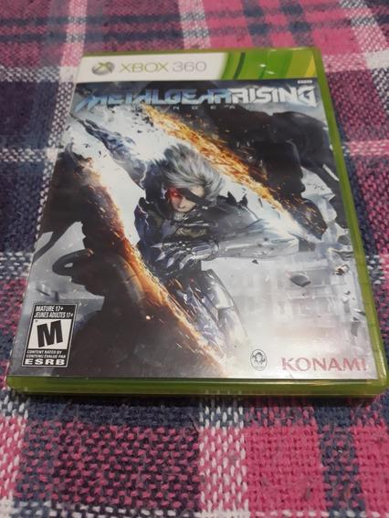 Metal Gear Rising Xbox 360 Mídia Física