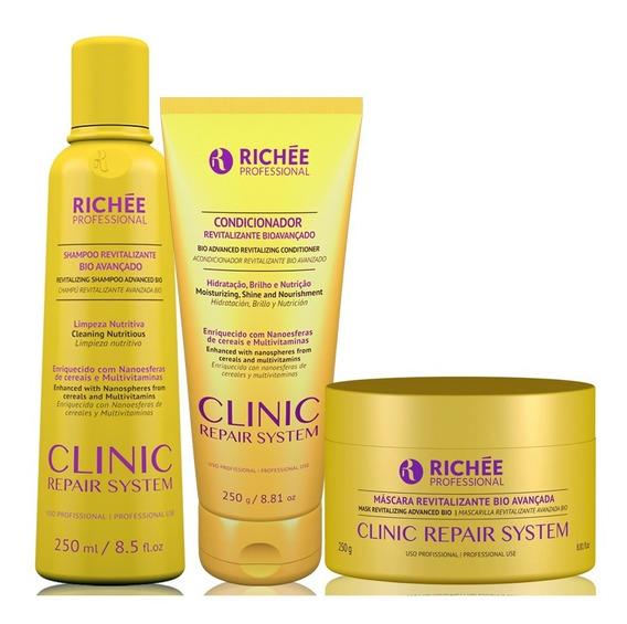 Richée Professional Clinic Repair System Kit Trio (3 Produto
