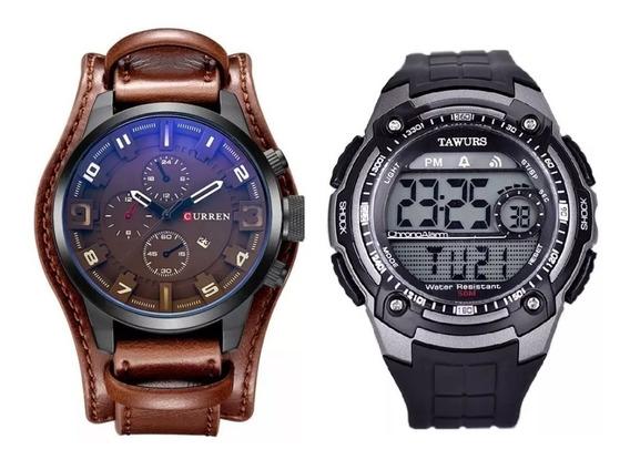 Relógio 1 Bracelete + 1 Relógio Digital Skmei Prova D
