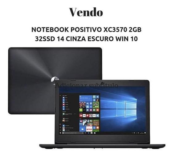 Notebook Positivo Xc3570 2gb 32ssd 14 Cinza Escuro Win 10
