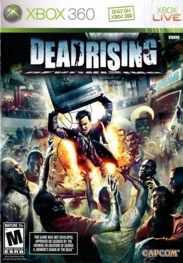 Jogo Dead Rising 1 Xbox 360 X360 Pronta Entrega Frete Grátis
