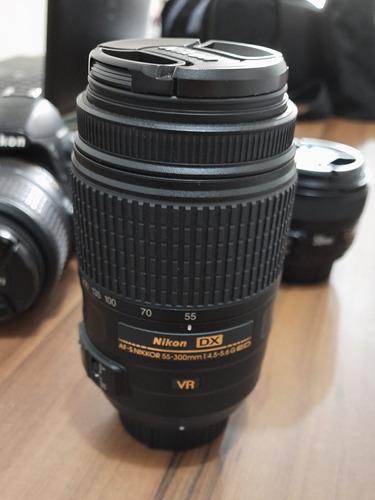 Lente Nikon Dx Nikkor 55-300mm 1:4.5-5.6 F/22