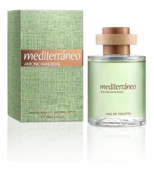 Perfume Masculino Antonio Banderas Mediterráneo 100ml