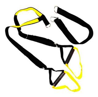 Fita De Suspensão Trx Para Treinamento Suspenso Amarelo