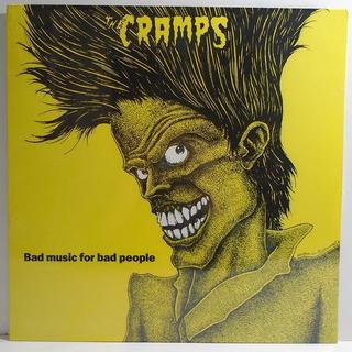 The Cramps 1984 Bad Music For Bad People Lp Lacrado Laranja