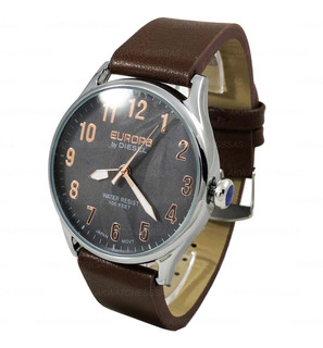 Reloj Europa By Diesel Hombre Cuero Caballero 4001 Cuotas