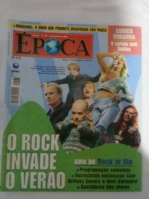 Revista Época 138 - 8 Janeiro 2001 - Guia Do Rock In Rio 3