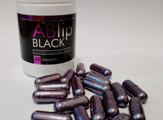 Ablip Black 30 Cápsulas Acelera Metabolismo Natural + Brinde
