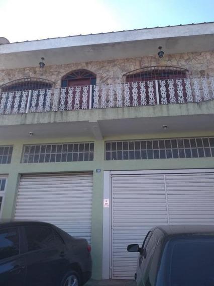 Sobrado Com 3 Dormitórios E Salão Para Alugar, 420 M² Por R$ 6.000/mês - Cidade Parque Alvorada - Guarulhos/sp - So2283