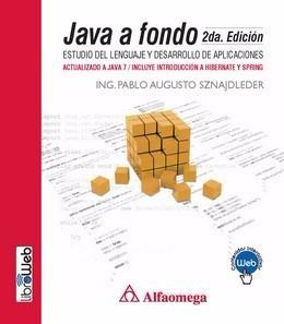 Libro Java A Fondo - Estudio Del Lenguaje Y Desarrollo