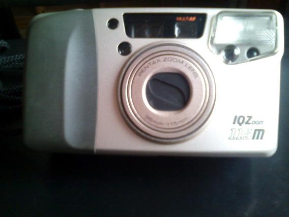 Câmera Fotográfica Antiga Analógica Pentax 115 M/ Zoom Lens
