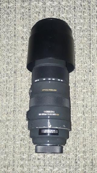 Sigma 150-500mm F/5-6.3 Apo Para Nikon